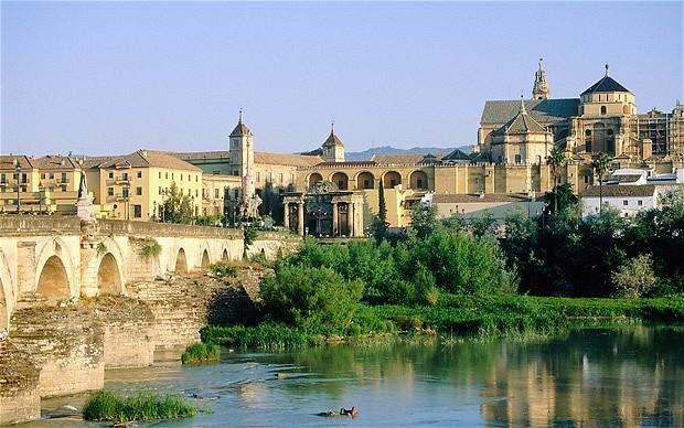 Mezquita de Córdoba por el atardecer