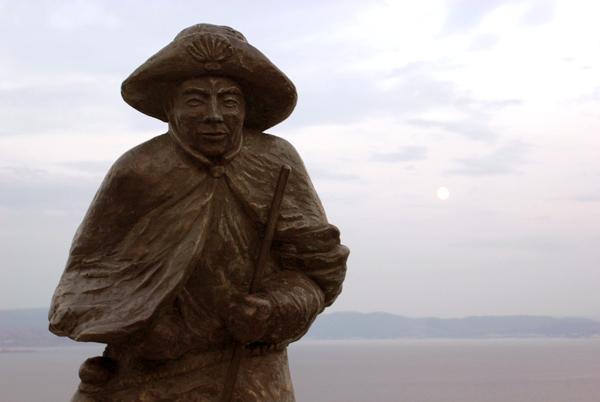 Monumento al peregrino de Fisterra