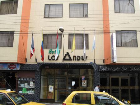 Hotel Los Andes Ipiales
