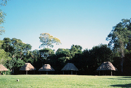 Camping en Tikal Guatemala
