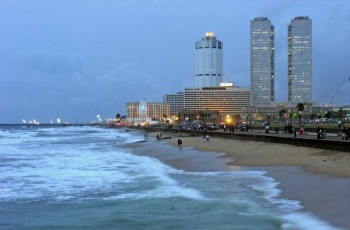 Playa en Colombo