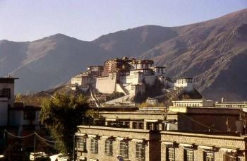 Potala en Lhasa