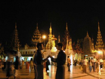 Pagoda Swedagon Yangón