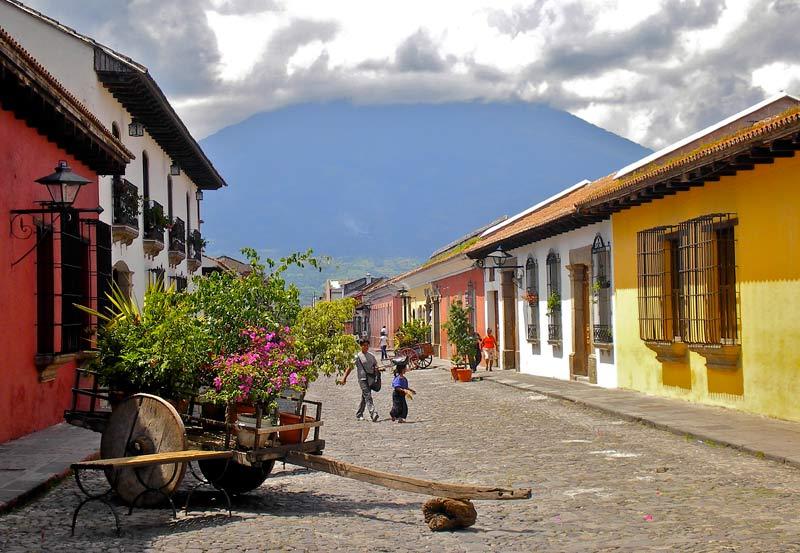 Antigua en Guatemala