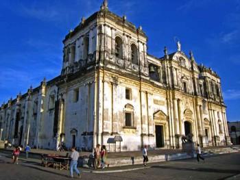 La Catedral de León en Nicaragua