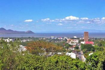Managua desde la Loma de Tiscapa