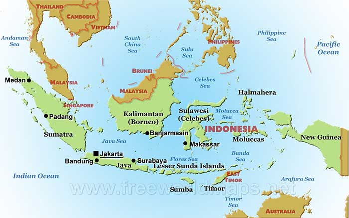 indonesia-map-political-big